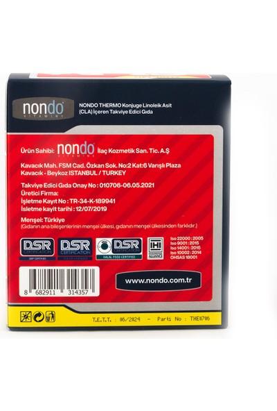 Nondo Thermo Cla+L-Carnitine 15 Şase 2 Adet