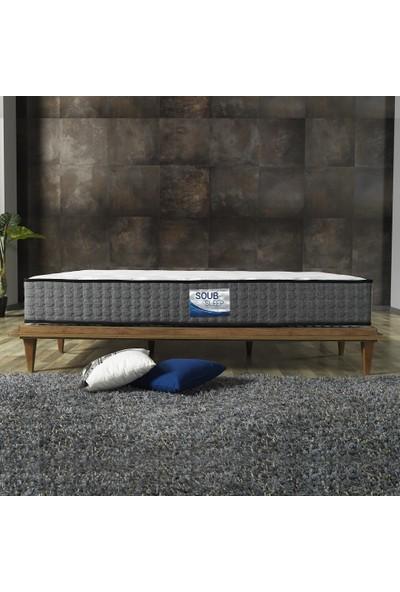 Soub Sleep 90 x 190 cm Pocket Yaylı Hybrid Tek Kişilik Yatak