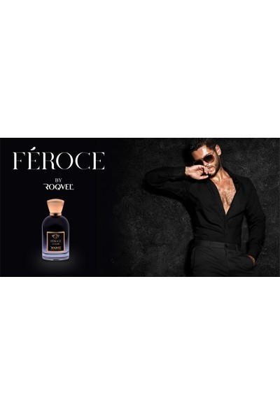Roqvel Féroce Extraıt 100 ml Erkek Parfüm