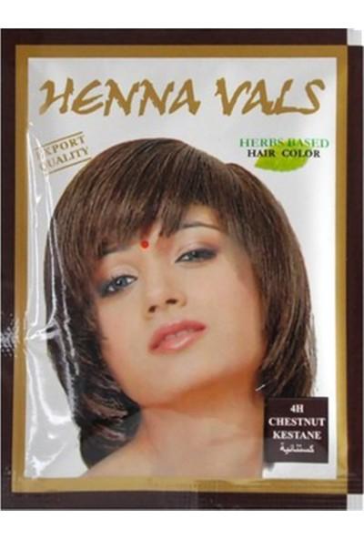 Henna Vals Hint Kınası Saç Boyası Kestane 10 Gr