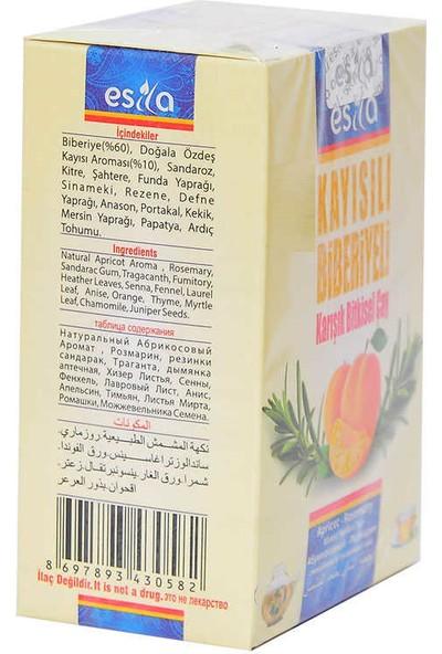 Esila Kayısılı Biberiyeli Karışık Bitkisel Çay 45 Süzen Poşet