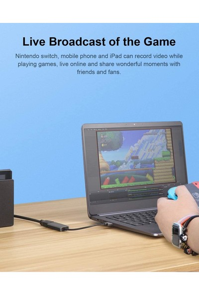 Hagibis Audio Video Capture Card 60FPS HDMI Nintendo Switch Pc Gaming Xbox Mac Laptop Ps4/5 Live Streaming Obs Podcast Computer Record Dslr
