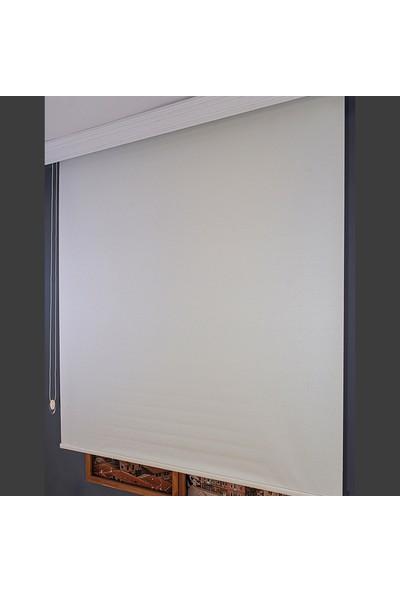 Aniper Beyaz Düz Stor Perde TMNP-1001 70x200 cm
