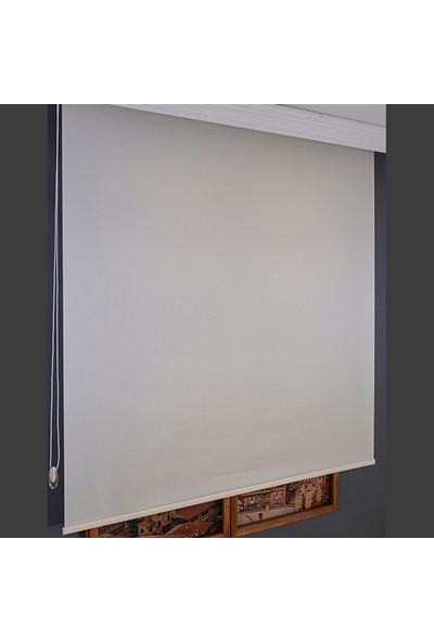 Aniper Krem Düz Stor Perde TMNP-1010 70x200 cm