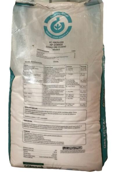 İgsaş Üre Fosfat 18-44-0 (Üre Azotu-18 )-(Nötral Amonyum Sitrat ve Suda Çözünür-44)