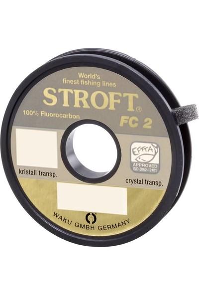 Stroft Fc2 50 Metre Fluorocarbon Misina