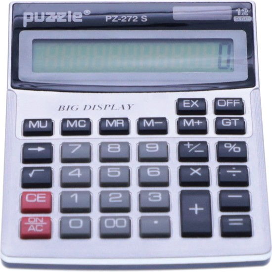 Puzzle 12 Haneli Hesap Makinesi PZ-272 S