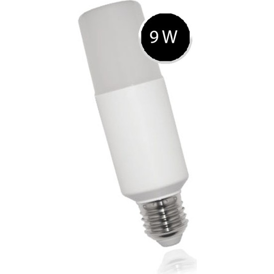 Cazipavm Rutter 9 Watt Beyaz Işık LED Ampul