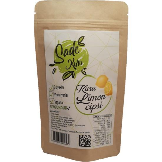 Sade Kuru Limon Cipsi