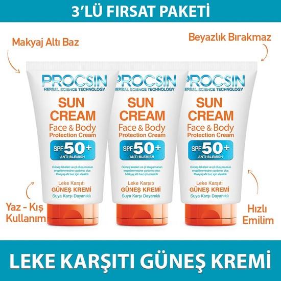 Güneş Kremi Üçlü Paket