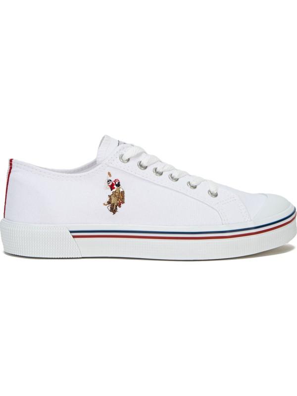 U.S. Polo Assn. Beyaz Ayakkabı 50234378-VR013