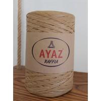 Ayaz Rafya Kağıt Ip Yumak - Natural Renk 002