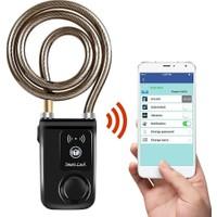 On Off Moto Telefondan Kontrol Edilebilir Anahtarsız Alarmlı Kilit Su Geçirmez