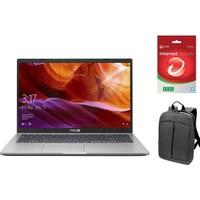 """Asus D509DJ-EJ119Z51 AMD Ryzen 7 3700U 12GB 256GB SSD MX230 Freedos 15.6"""" FHD Taşınabilir Bilgisayar+ Çanta + Internet Security"""
