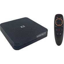 Hiremco X2 Android 10 Tv Box & G10 Fly Mouse Kumanda