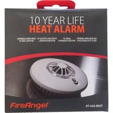 3mk Fireangel HT-630-NEU Pilli Sıcaklık Dedektörü -10 Yıl Lithium Pil Ömrü