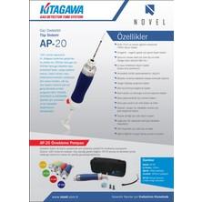 Komyo Kitagawa Ap-20 Pompa Anlık Gaz Dedektör Tüp Sistemi