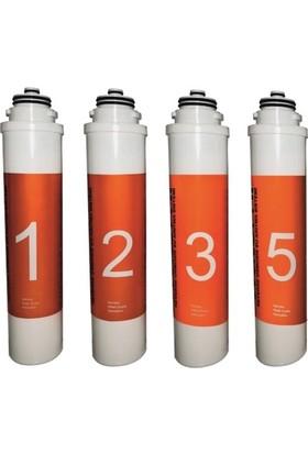 Waterlife Filtre Seti 1-2-3-5 Waterlife Su Arıtma Filtresi