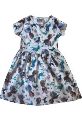 Koçak Kids Frozen Kız Çocuk Elbise