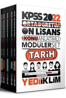 Yediiklim Yayınları KPSS 2022 Ortaöğretim Ön Lisans Genel Yetenek - Genel Kültür Konu Anlatımlı Modüler Seti