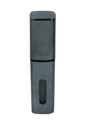 Çınar Ticaret Gümüş Rengi Parfüm Şişesinden Doldurulabilir Çanta Içi 8 ml Parfüm / Kolonya Şişesi (Plastik Hazneli)