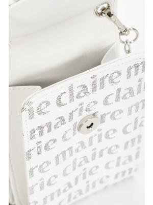 Marie Claire Beyazsiyh Kadınportföy Çantası Fanetta MC221106271