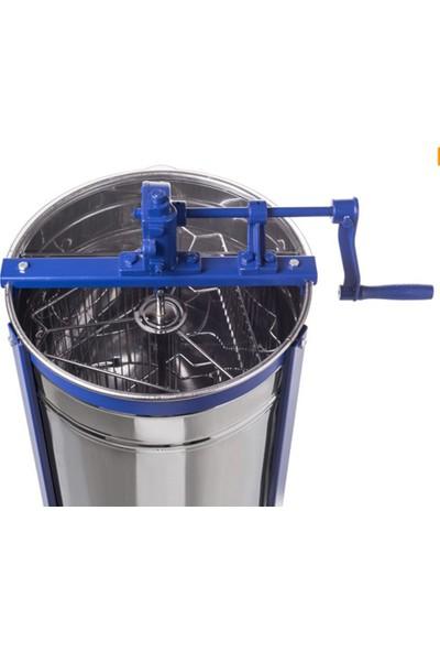 Sezer Arıcılık Bal Süzme Makinesi 3'lü Krom