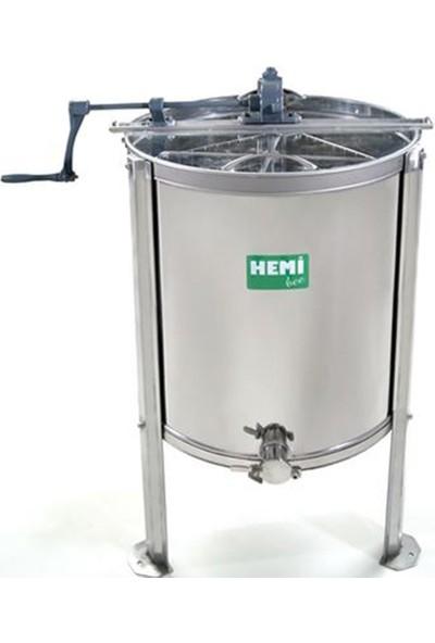 Sezer Arıcılık Hemibee Bal Süzme Makinesi 4 Lü Inoks
