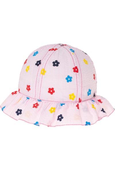 Kitti Çiçekli Şapka 9-24 Ay Baş Çevresi 42-46 cm