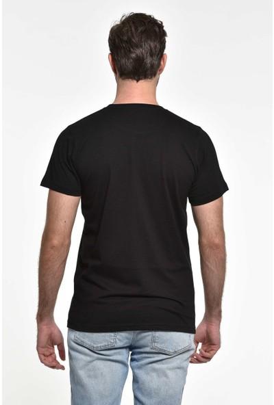 Orijin Venom Siyah Erkek Tişört