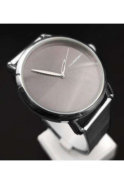 Exception Gümüş Hasır Kordon Erkek Kol Saati 6058H