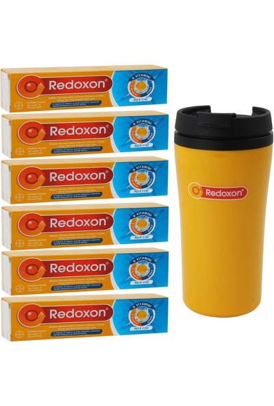 Redoxon Üçlü Etki 15 Efervesan Tablet 6 Adet + 1 Adet Termos Bardak