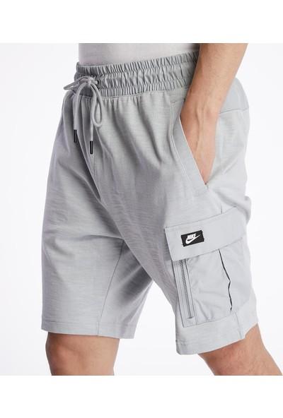 Nike BV3116-077 Sportswear Erkek Şort - Gri