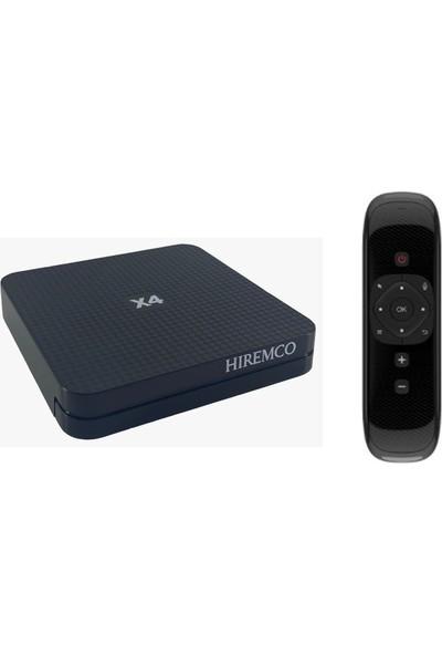 Hiremco X4 Android 10 Tv Box & W2 Fly Mouse Kumanda