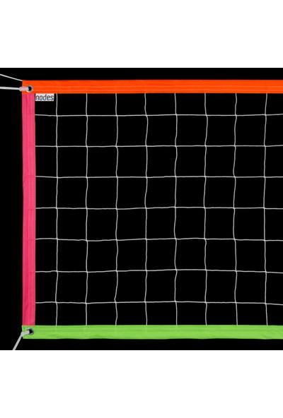 Nodes Neon - Voleybol Filesi - Standart - Tüm Renkler - Karışık