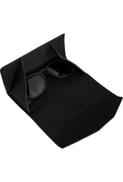 Plm Deri Gözlük Kılıfı Erc1 Siyah