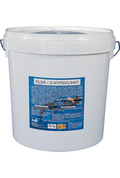 Pina Yüzme Havuzu Kalsiyum Hipoklorit %65 40KG Havuz Kimyasalları