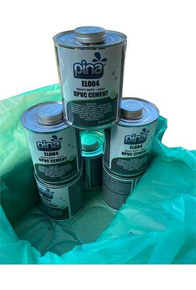 Pina Kuvvetli Sert Pvc Yapıştırıcı - 1,000 gr Fırçalı Ambalaj