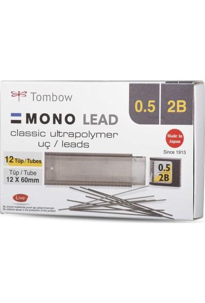 Tombow 2B Mono Lead 0.5 mm Min Uç 12'li Kutu