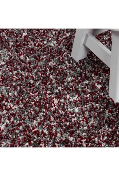 Ayyıldız Shaggy Halı 30 mm Yüksek Havlı Karma Renkli Kırmızı Gri Krem