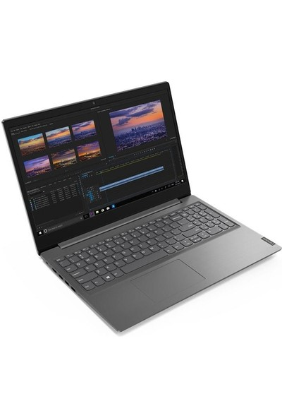 """Lenovo V15-IIL Intel Core i3 1005G1 4GB 256GB SSD Windows 10 Pro 15.6"""" FHD Taşınabilir Bilgisayar 82C500JFTXZ63 + Çanta"""