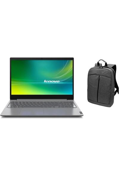 """Lenovo V15-IIL Intel Core i3 1005G1 8GB 1TB + 256GB SSD Windows 10 Pro 15.6"""" FHD Taşınabilir Bilgisayar 82C500JFTXZ67 + Çanta"""