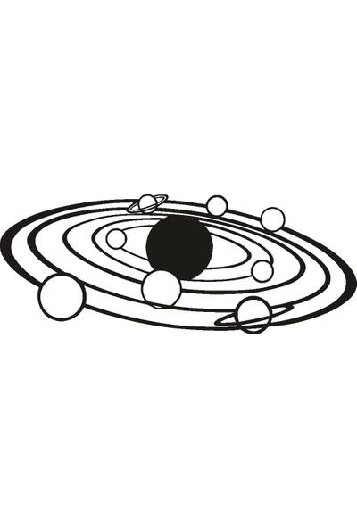 Doğal Dekor Planets Duvar Tablosu