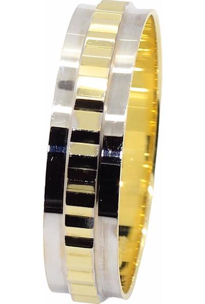 Cigold 14 Ayar Taşsız Alyans 25K1ALS0298016247