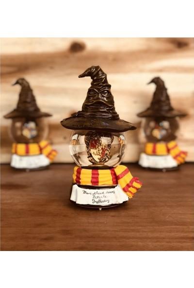 Hediye Deposu Harry Potter Kar Küresi Gryffindor Özel Tasarım Renk Değiştiren