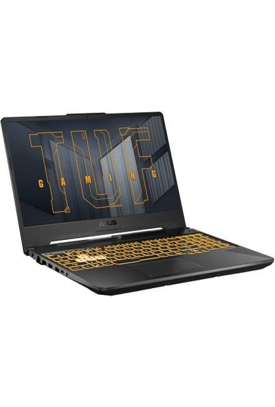 """Asus TUF FX506HC-HN044 Intel Core i7 11800H 16GB 512GB SSD RTX3050 Freedos 15.6"""" FHD Taşınabilir Bilgisayar"""