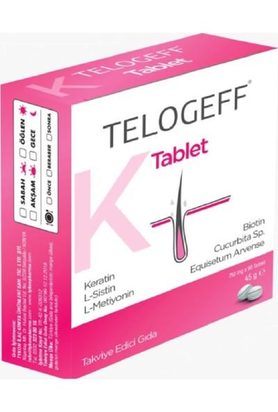 Telogeff Tablet Saç Dökülmesi Sorunlarınıza Kadınlar Için 45 gr