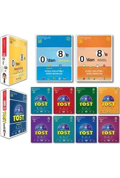 Tonguç Akademi 8. Sınıf LGS 0 Dan 8 E Hazırlık Seti Tüm Dersler - Tost Set 10 Kitap 2021 - 2022