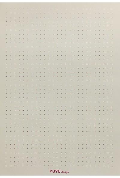 Yuyu Design A5 Ivory Noktalı Defter 80 gr Yd-50 Dotted Bullet Journal