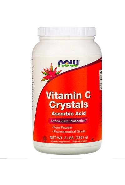 Now, Vitamin C Crystals, 3 Lbs (1361 G)